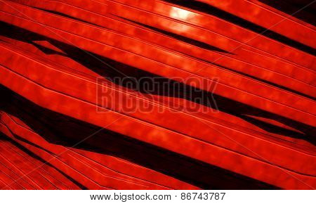 3d background with abstract red panels