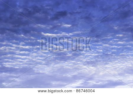 Beautiful Of Blue Sky And Clouds
