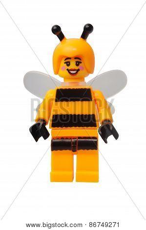 Bumblebee Girl Lego Minifigure