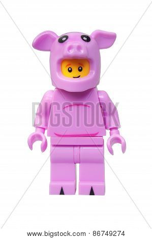 Piggy Guy Lego Minifigure