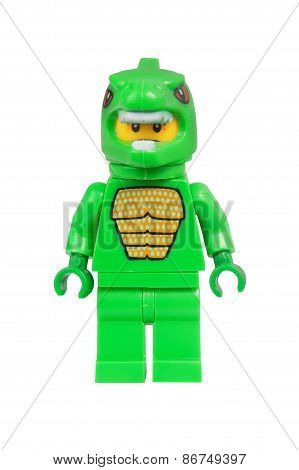 Lizard Man Lego Minifigure