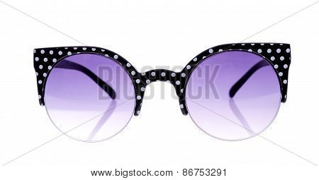 Black And White Peas Sunglasses