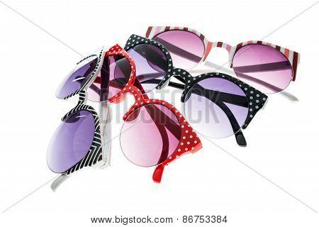 Some Colored Sunglasses