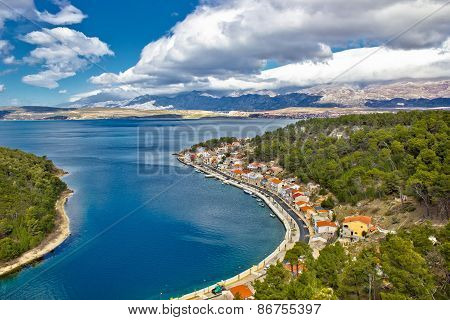Novigrad Dalmatinski Fishermen Village Bay