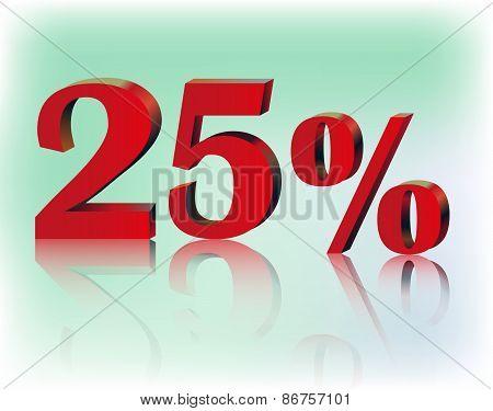 Twenty Five Percent
