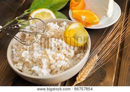 Neapolitan Pastiera Ingredients