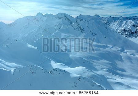 Dolomiten Alps Winter View (austria)