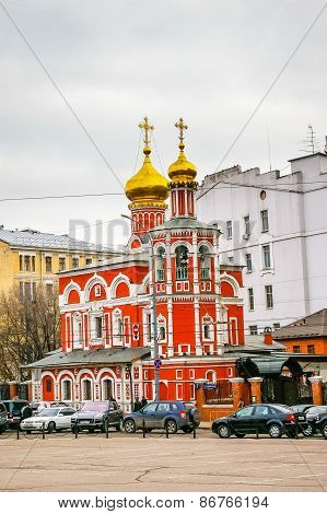 Church Of All Saints Na Kulichkakh, Kitai Gorod, Moscow, Russia