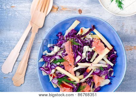 Salad From Cabbage.