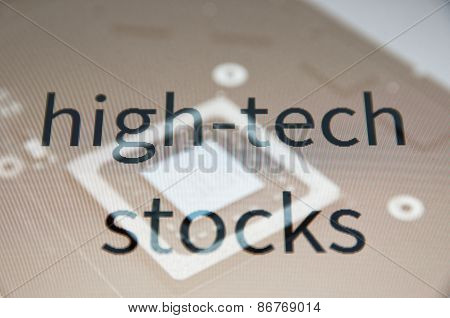 High- tech stocks