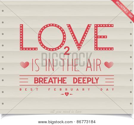 love is in the air, breathe deeply