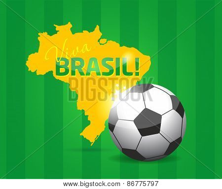 Brazil abstract background