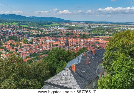 View from Wernigerode Castle.