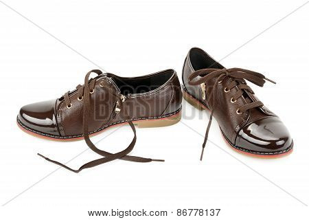 Shoes Isolated On White Background