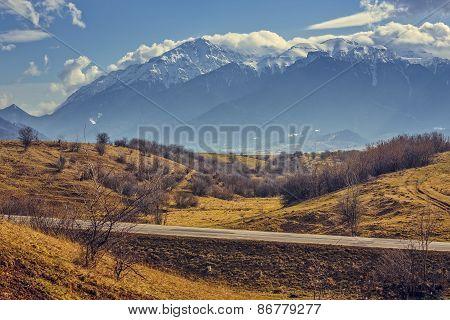 Bucegi Mountains Scenery