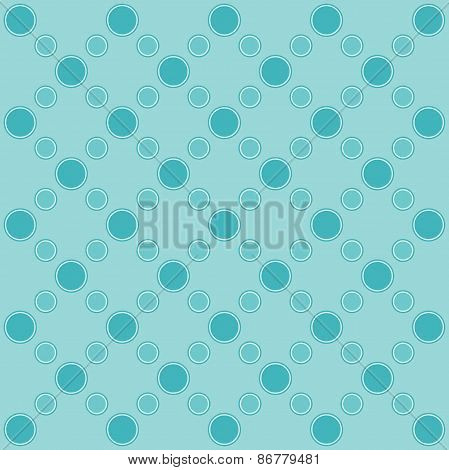 Bright Background With Abstract Circles