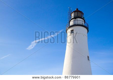 Michigan Lighthouse Background