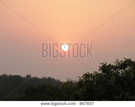 Sunset Over The Arabian Sea, Goa, India