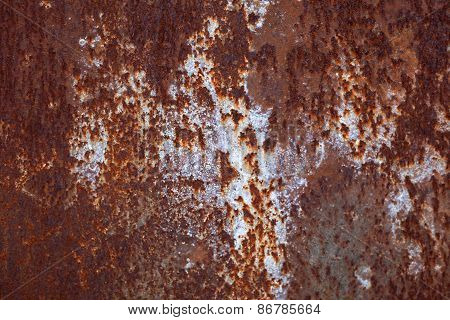 Metal Corroded Rusty Texture