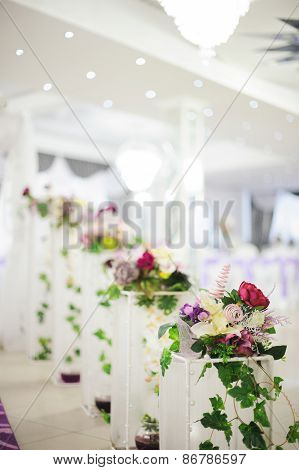 Banquet wedding decor flower
