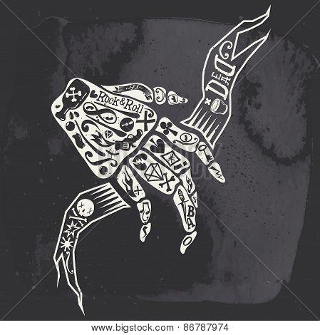 Rock Illustration