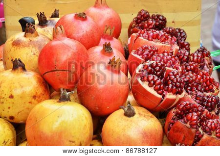 Ruby-red Pomegranate Already For Sale