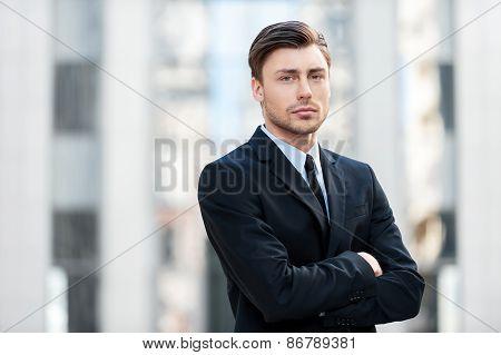 Serious Businessman.