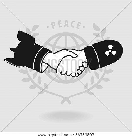 Symbol Shaking Truce