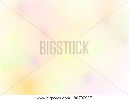 Abstract blurred colored spots background.