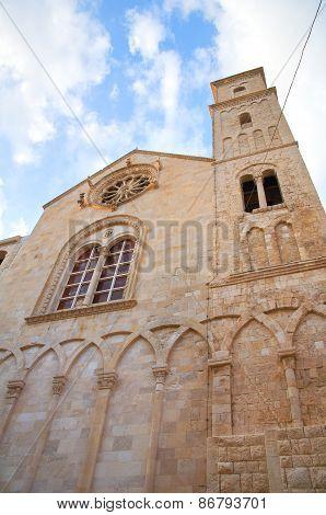 Duomo Cathedral of Giovinazzo. Puglia. Southern Italy.