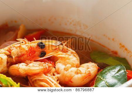 Tom Yam Kung, Thailand Food