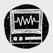picture of ekg  - Doodle EKG - JPG