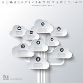 picture of internet icon  - Cloud icon - JPG