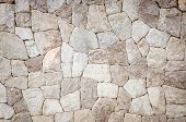 foto of tile cladding  - the part of a stone wall background - JPG