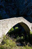 picture of reining  - bridge Pont de la Reine Jeanne - JPG