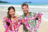 image of hawaiian flower  - Welcome to Hawaii  - JPG