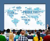pic of productivity  - Productivity Vision Idea Efficiency Growth Success Solution Concept - JPG