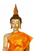 pic of cho-cho  - Image view of buddha isolated on white background - JPG