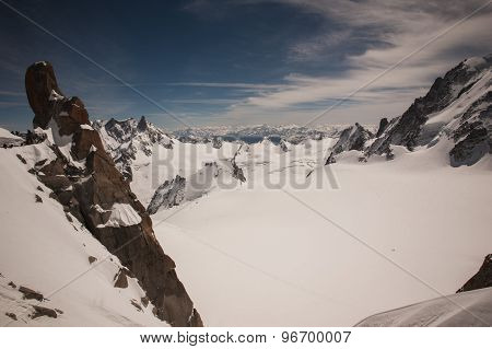 View From Mont Blanc , France