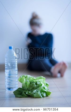 Lettuce And Water