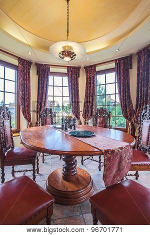 Antique Furniture In Dining Room