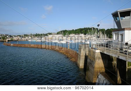 Brittany, The Harbour Of Perros Guirec
