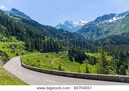 Sustenstrasse Pass In Alsp