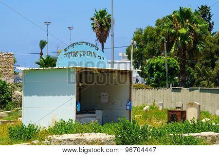 Rabbi Nissim Yesf Elnekave Grave, Haifa