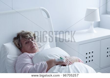 Sick Older Woman