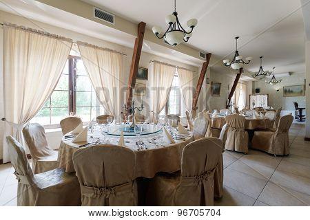 Elegant Hotel Restaurant