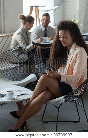 Sitting Alone In A Restaurant