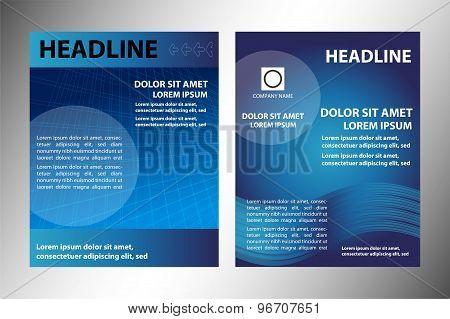 Blue leaflet