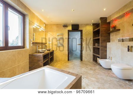 Beauty Spacious Bathroom
