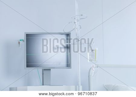 Medical Monitor And Bed